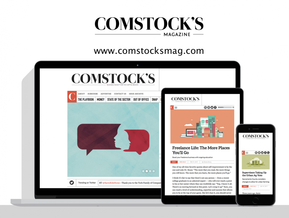 Comstocks Magazine new website - Created by Digital Deployment